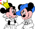 Colorir Mickey e Minnie